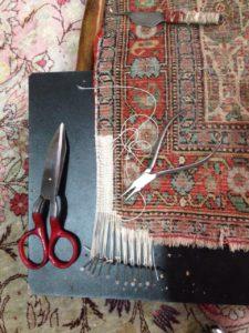 notre metier restauration de tapis