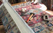 Réparation de franges de tapis à Neuilly