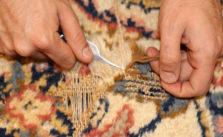 Restaurer un trou sur un tapis à Saint Cloud