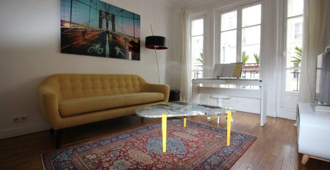 Achat, nettoyage et restauration de tapis Ispahan à Neuilly