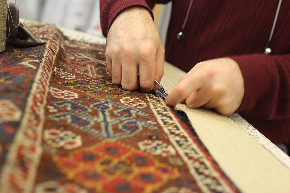 restaurer tapis